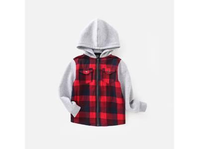 Children Plaid Jacket