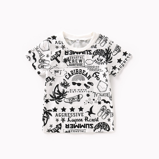 Summer children's T-shirt how to make a choice