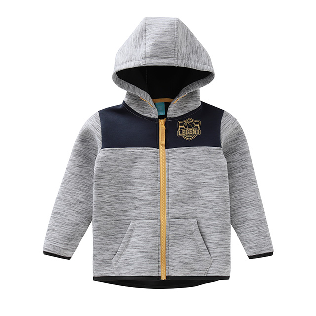 Boys' patchwork coat