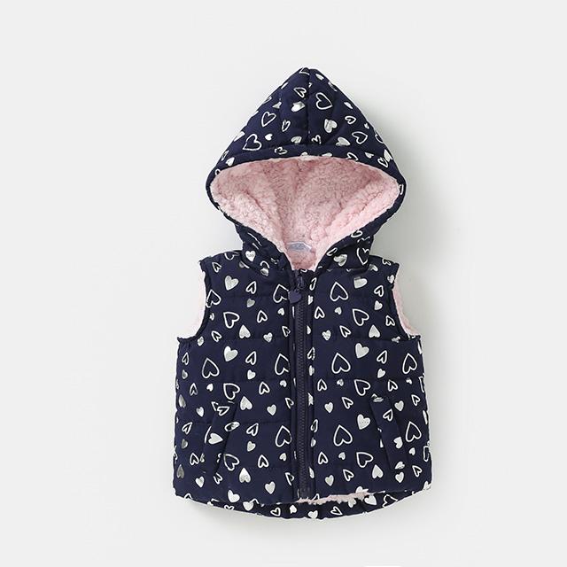 Children's winter cotton vest