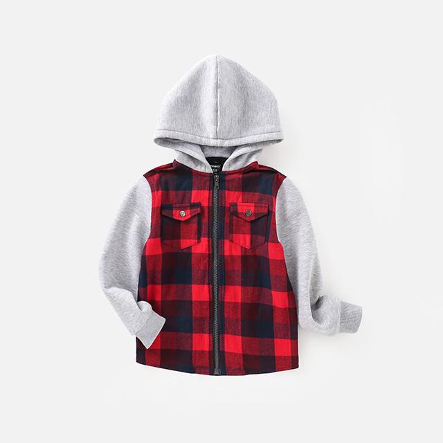 Children's Plaid Jacket