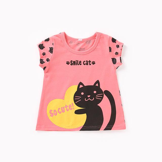 Children's cartoon T-shirt